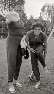 Тамара и Ирина Пресс, 1960 г.