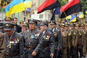 Во время празднования годовщины УПА
