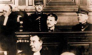 Франция, 1927 год, Шварцбард на скамье подсудимых