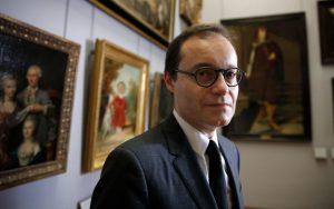 Глава отдела живописи Лувра Себастьян Аллар