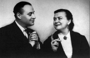 Мария Миронова и Александр Менакер