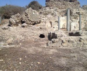 Руины церкви св. Марии