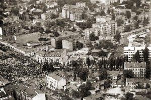 Фото Галицької площі (Єврейського базару) початку 1950-х років з сайту OldKiev