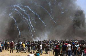 Столкновения на границе с сектором Газа