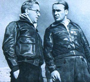 Михаил Кольцов и Энрике Форхан. Испания, Алькасар