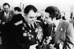Встреча с пилотами «Нормандии-Неман», 1971 г.