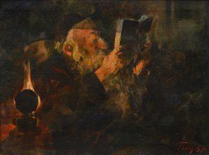 «Ночное чтение», 1957 г.