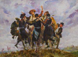«Хасидский танец», 1997 г.
