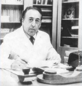 Профессор Трахтенберг за работой, 70-е годы