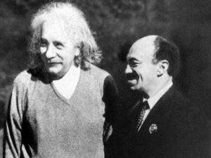 Альберт Эйнштейн и Соломон Михоэлс