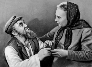 Соломон Михоэлс в спектакле «Тевье-молочник» по пьесе Шолом-Алейхема
