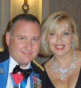 Ведущая программы «Яхад» Милена Бурд с мужем Биллом Миллардом