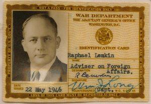 Идентификационная карта Военного управления, 22 мая 1946 г.