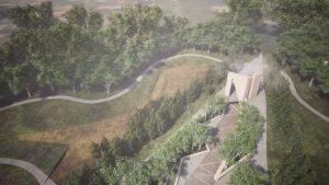 Эскиз будущего мемориального парка