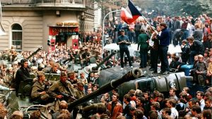 Советские войска в Чехословакии, 1968 г.