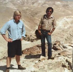 1984 год. Борис Джонсон в кибуце Кфар а-Наси
