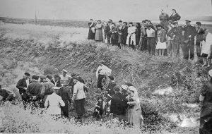Симферопольский ров после освобождения Симферополя, 1944 г.
