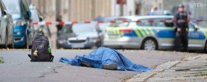 Одна из жертв теракта в Халле