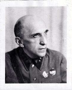 Яков Серебрянский в 1941 году