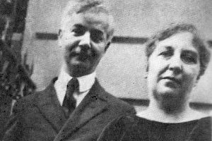 Саша Черный и его жена Мария