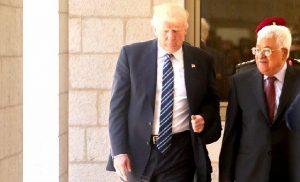 Д. Трамп и М. Аббас