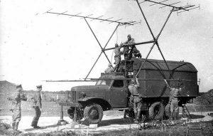 Советский радар П-12, похищенный израильскими десантниками в ночь на 27 декабря 1969 г. Сейчас находится в Музее израильских ВВС на авиабазе Хацерим