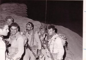 26 февраля 1969 г. Израильские десантники, участвовавшие в захвате советского радара