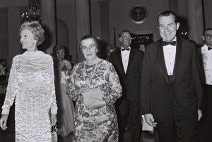 Премьер Израиля Голда Меир и Президент США Ричард Никсон, 1969 год