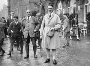 Штрейхер и Гитлер в Нюрнберге, 1923 год