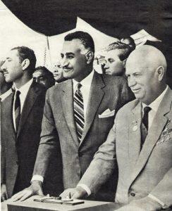 Джек Леон Томас работал на Израиль прежде всего из ненависти к режиму Насера. На фото: Гамаль Абдель Насер и Никита Хрущев
