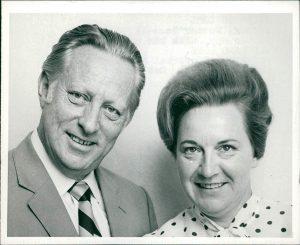 Вольфганг Лотц с супругой