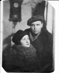 Дина и Виктор Проничевы