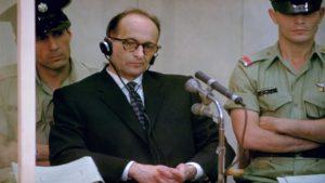 Адольф Эйхман на суде в Иерусалиме