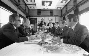 Встреча Леонида Брежнева с президентом США Дж.Фордом на переговорах во Владивостоке, 1974 год