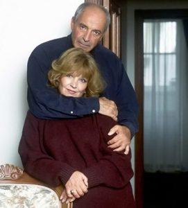 С женой Ольгой Остроумовой