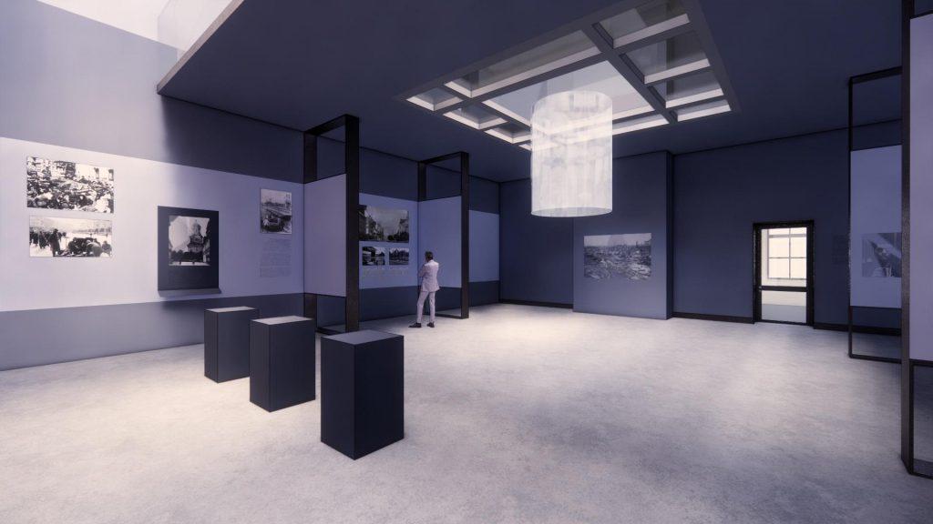 Проект експозиційних комплексів Меморіального музею пам'яті жертв Бабиного Яру