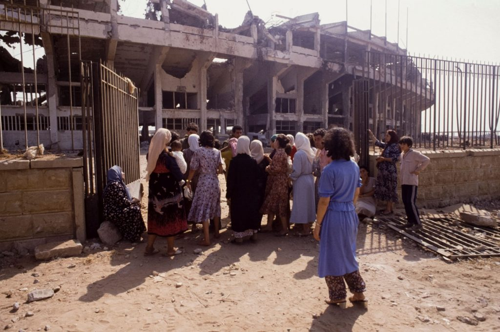 Выжившие после резни в Сабре и Шатиле