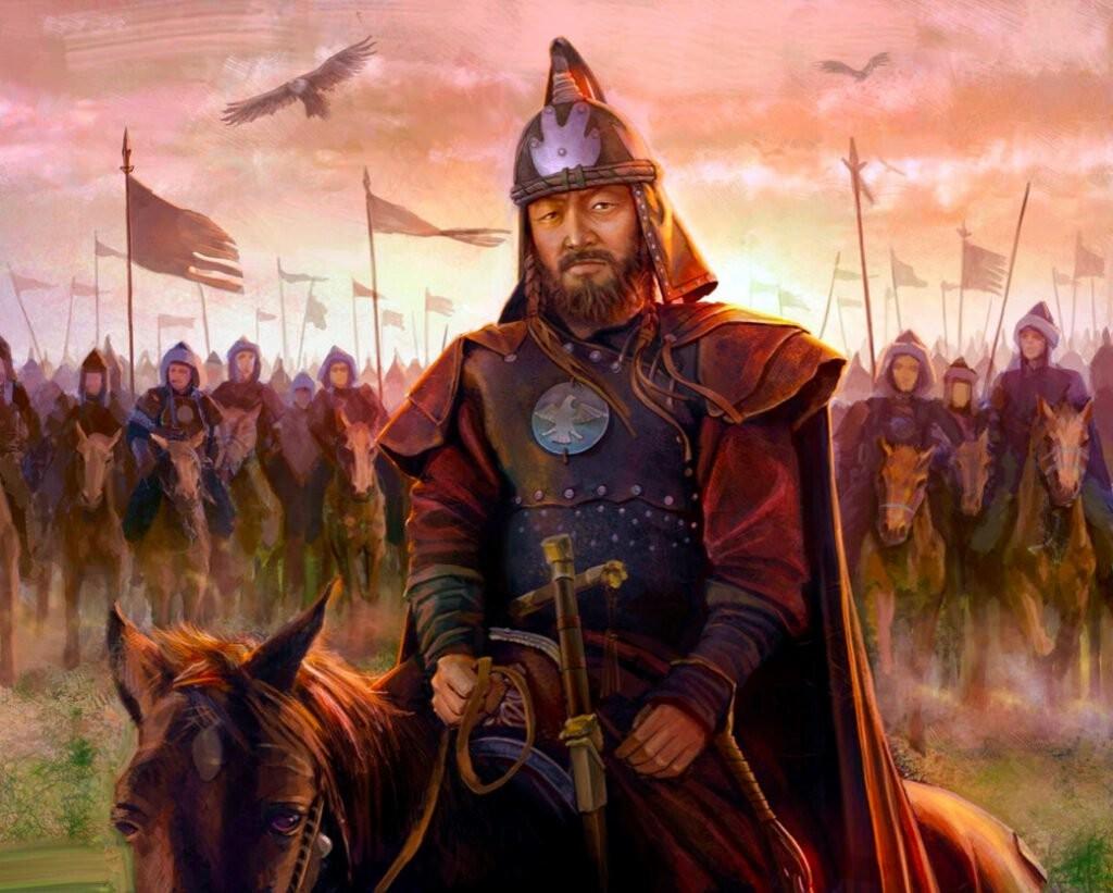 Чингиз-хан и его воины