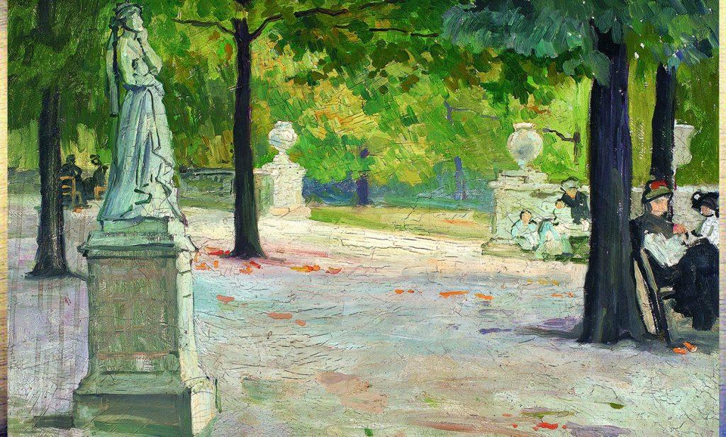«Люксембургский сад, 1904»