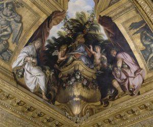 Тит и Береника (фреска Версальского дворца)