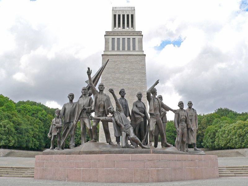 """Мемориальный корпус """"Бухенвальд"""""""