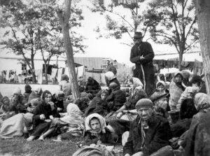 Лагерь переселенцев в Транснистрии