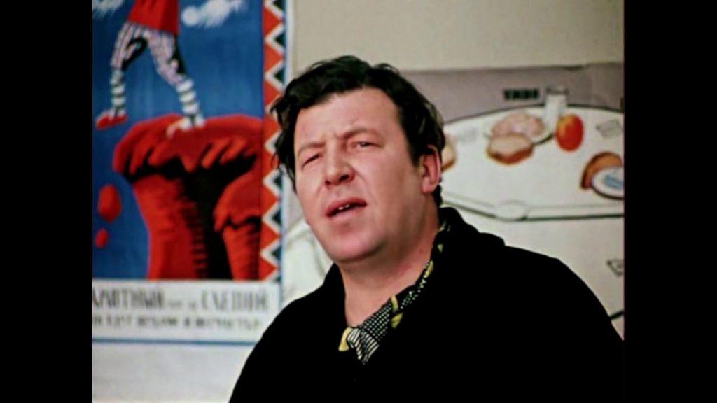 Актер Роман Филиппов в роли Никифора Ляписа в фильме «Двенадцать стульев», 1971 год
