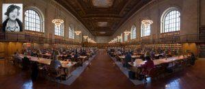 Нью-Йоркская публичная библиотека. Панорама Главного читального зала