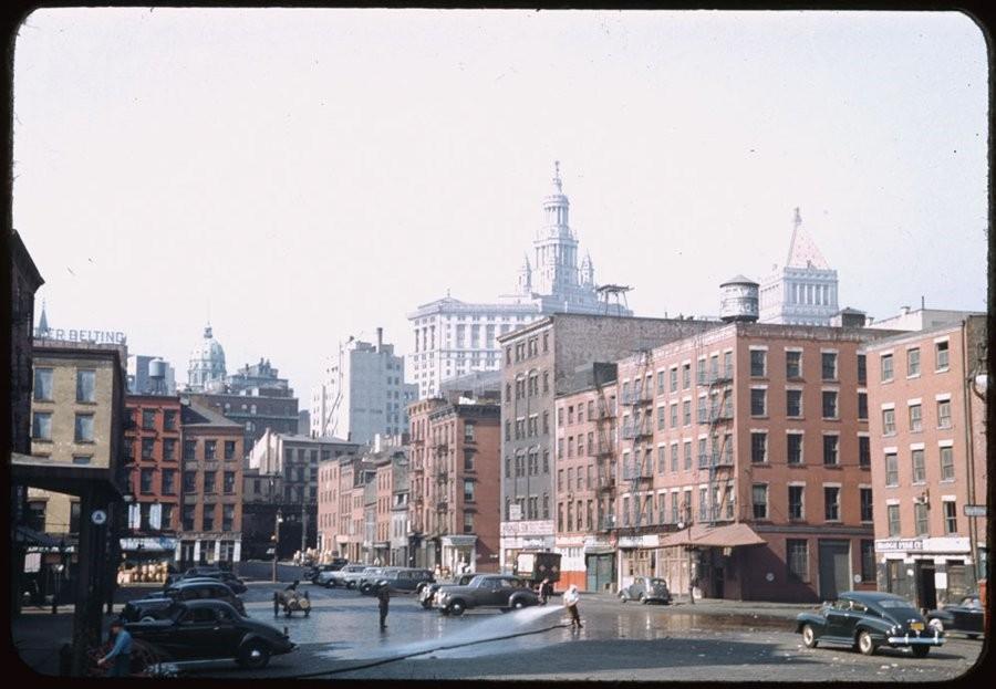 Нью-Йорк, 30-е годы ХХ века