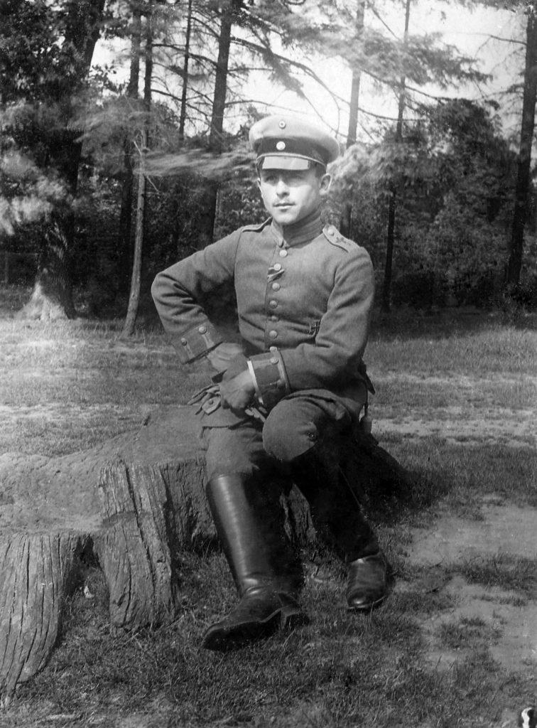 Еврейский ас летчик-истребитель Фриц Бекхардт, в воздушных боях сбил 17 самолетов противника