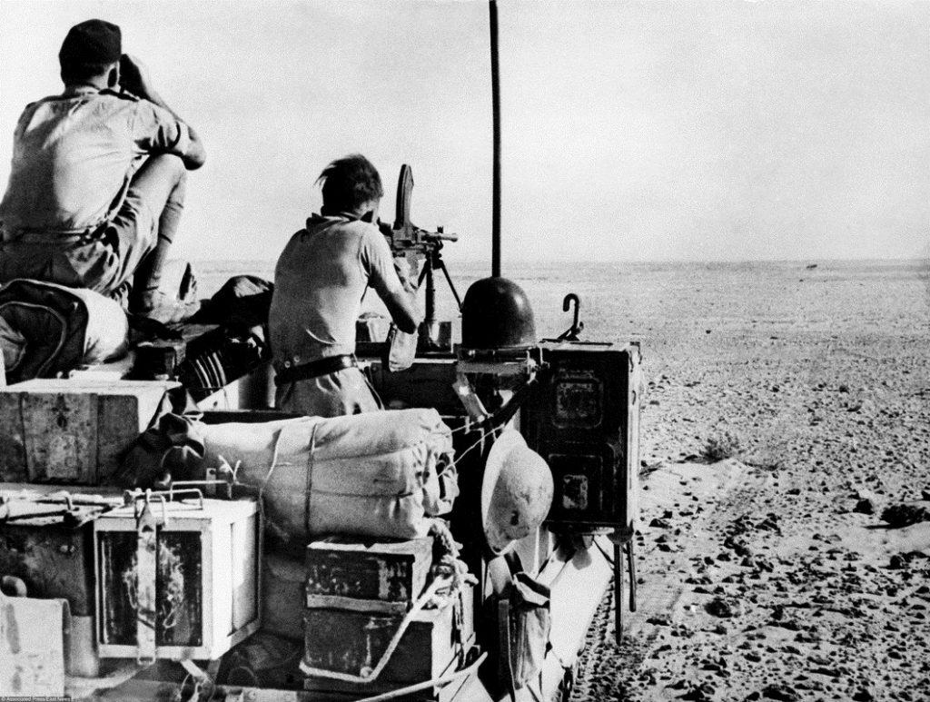 Британские солдаты. Эль-Аламейн, 1942 год