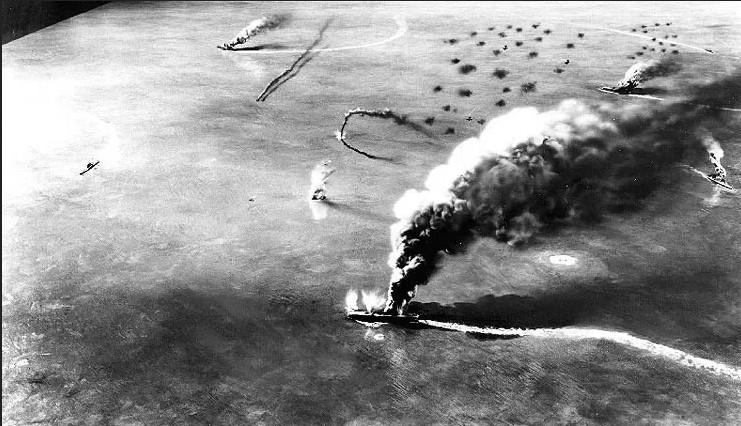 Сражение за атолл Мидуэй, июнь 1942 года