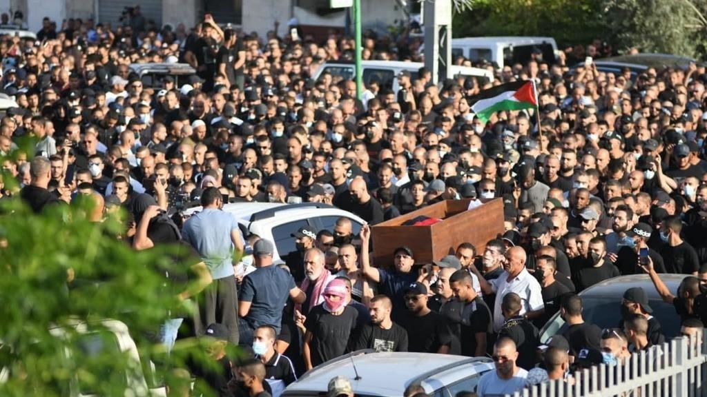 Похоронная процессия в Лоде