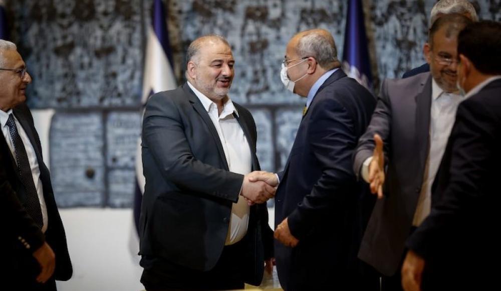 Партия РААМ (Объединенный арабский список) в Кнессете. Мансур Аббас